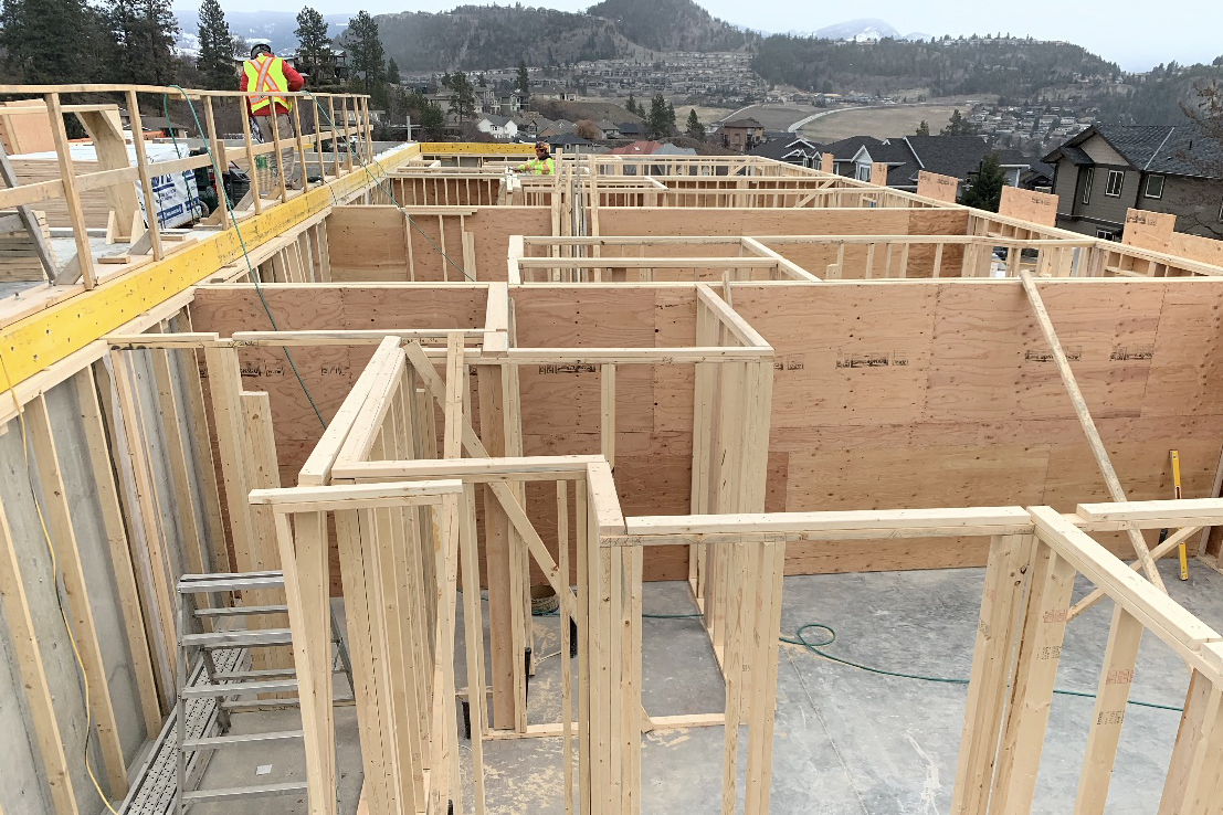 Block 12 Basement framing – March 13th, 2020