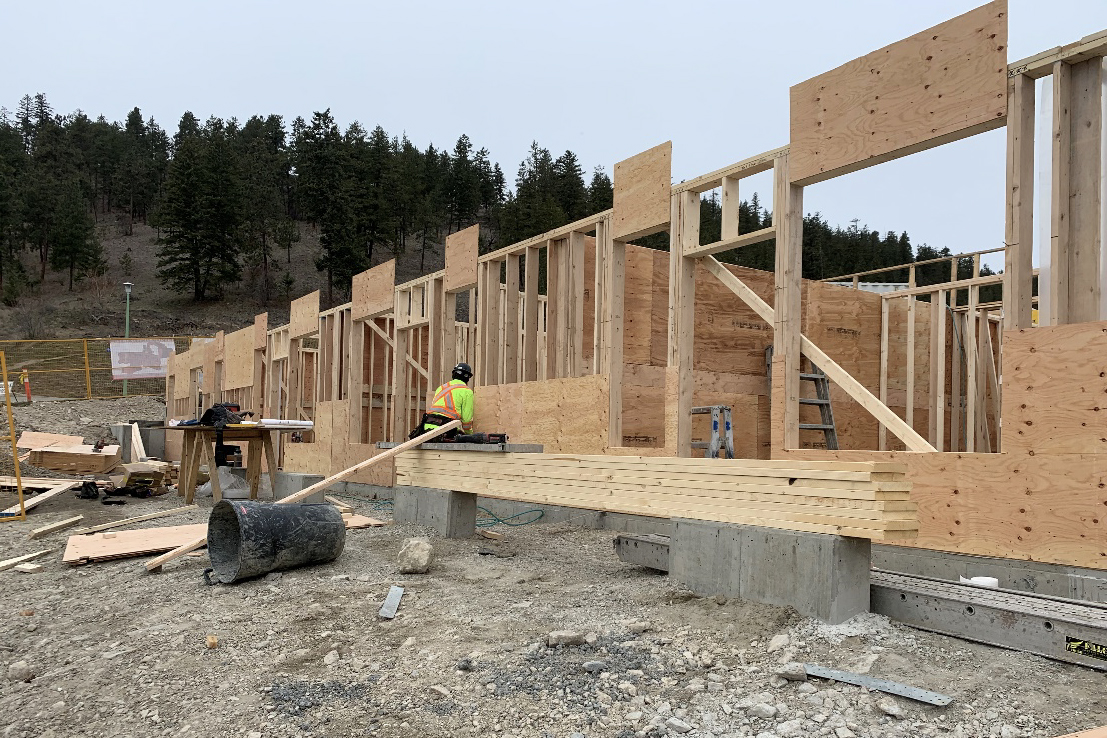 Block 12 Basement framing 2 – March 13th, 2020