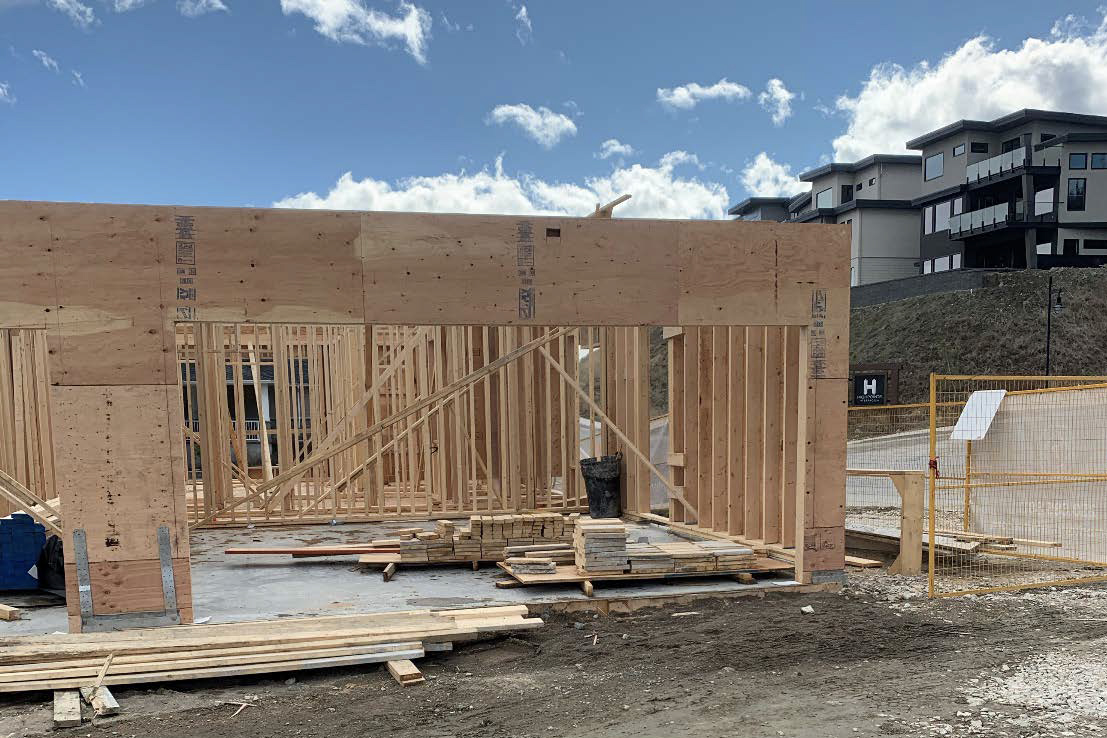 Block 12 Main Floor Framing – March 30th, 2020