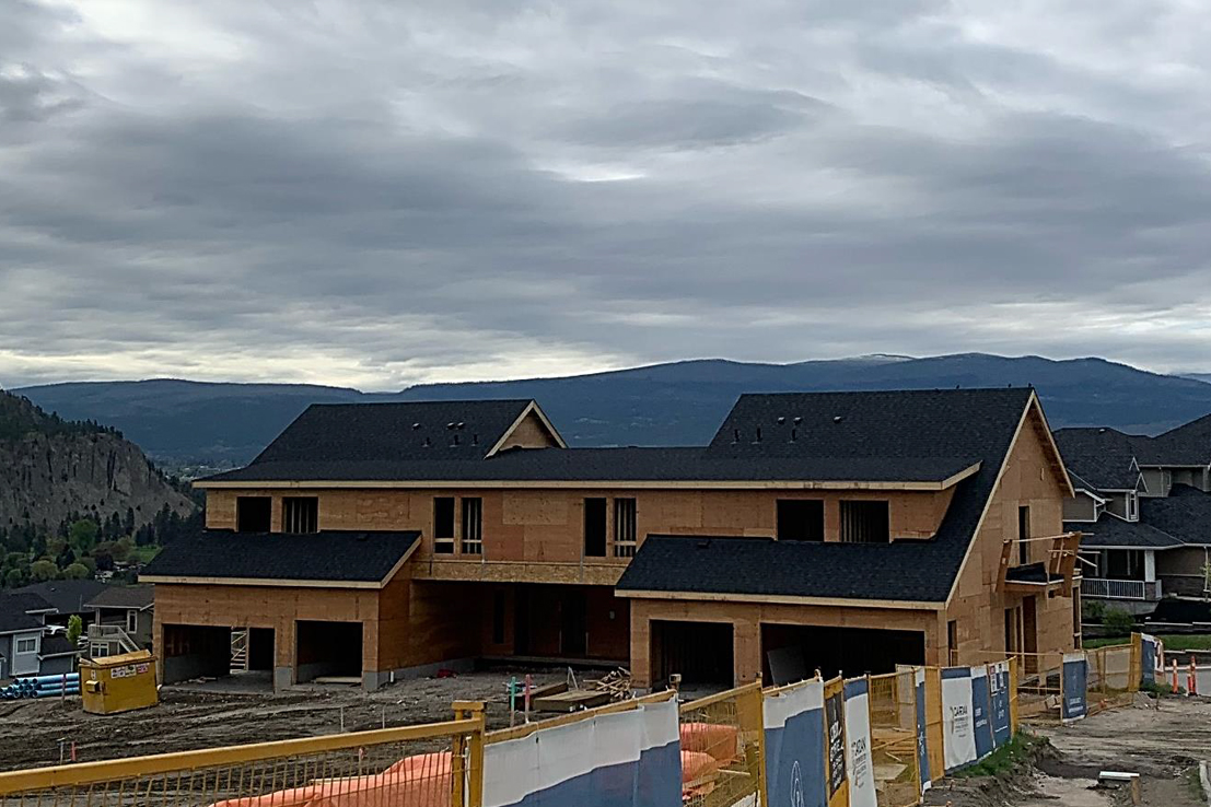 Block 12 Roof is Shingled – May 7th, 2020
