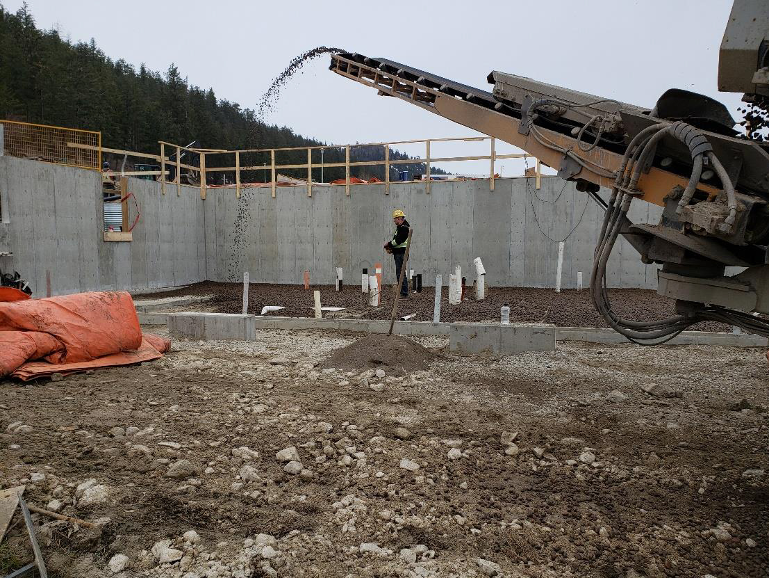 Block 12 basement slab prep 2 – Feb 27th 2020