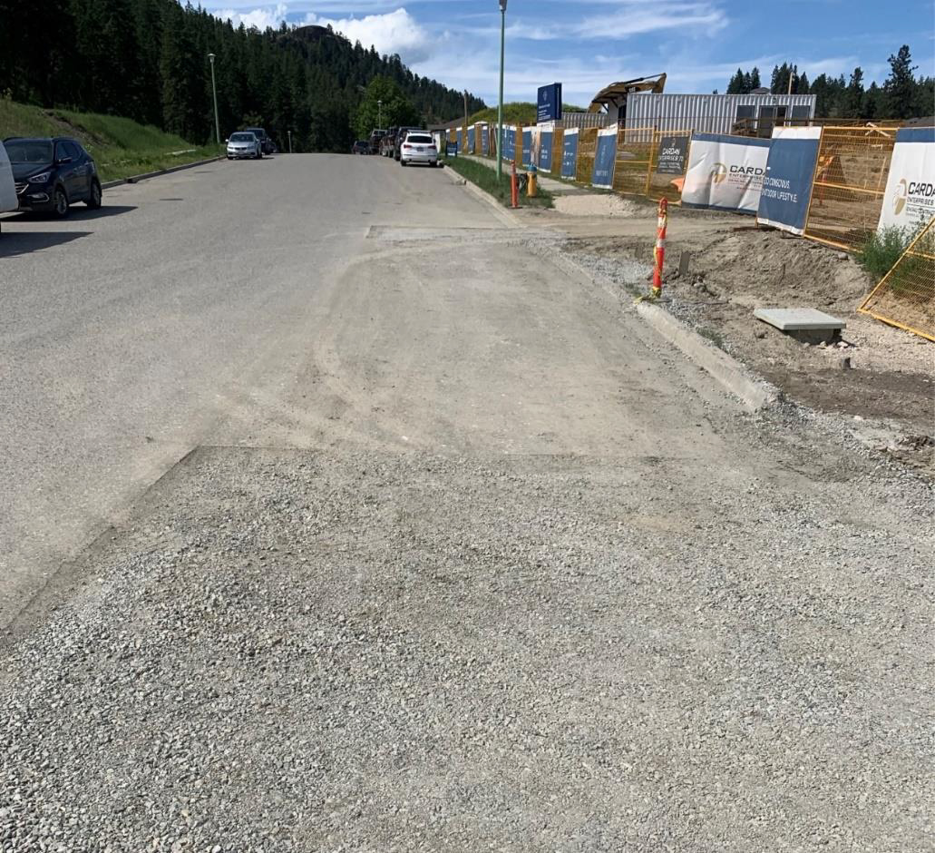 Road to be paved – June 3rd 2020