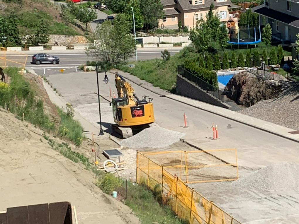 Road to be paved 2– June 3rd 2020